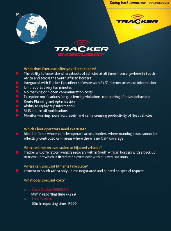 Tracker Vehicle Tracking Solutions Using Tracker Vehicle
